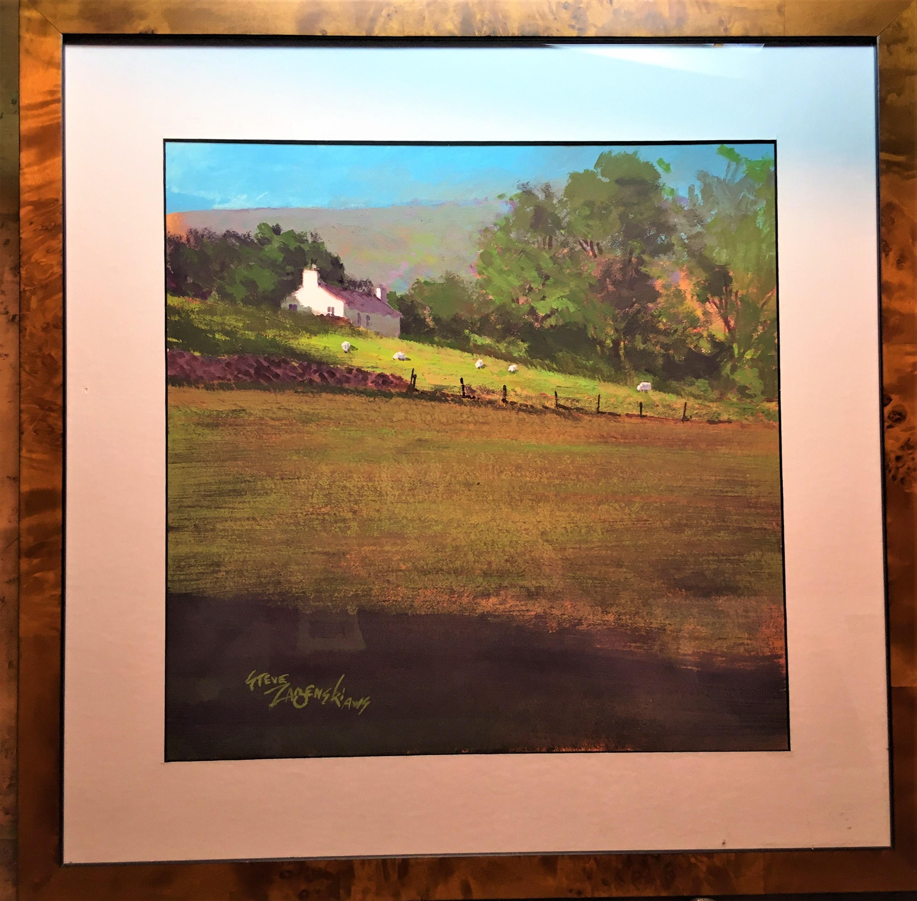 Irish Farm by Steve Zazenski