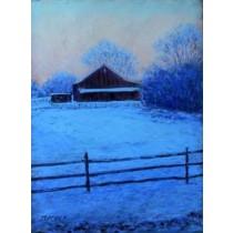 Bucks County Winter Daybreak by Bob Richey