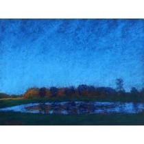 Twilight Lake Reflections