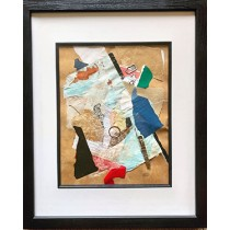 Falling Collage by Sandra Vallely